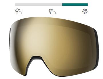 4D Mag CP Black Gold mirror