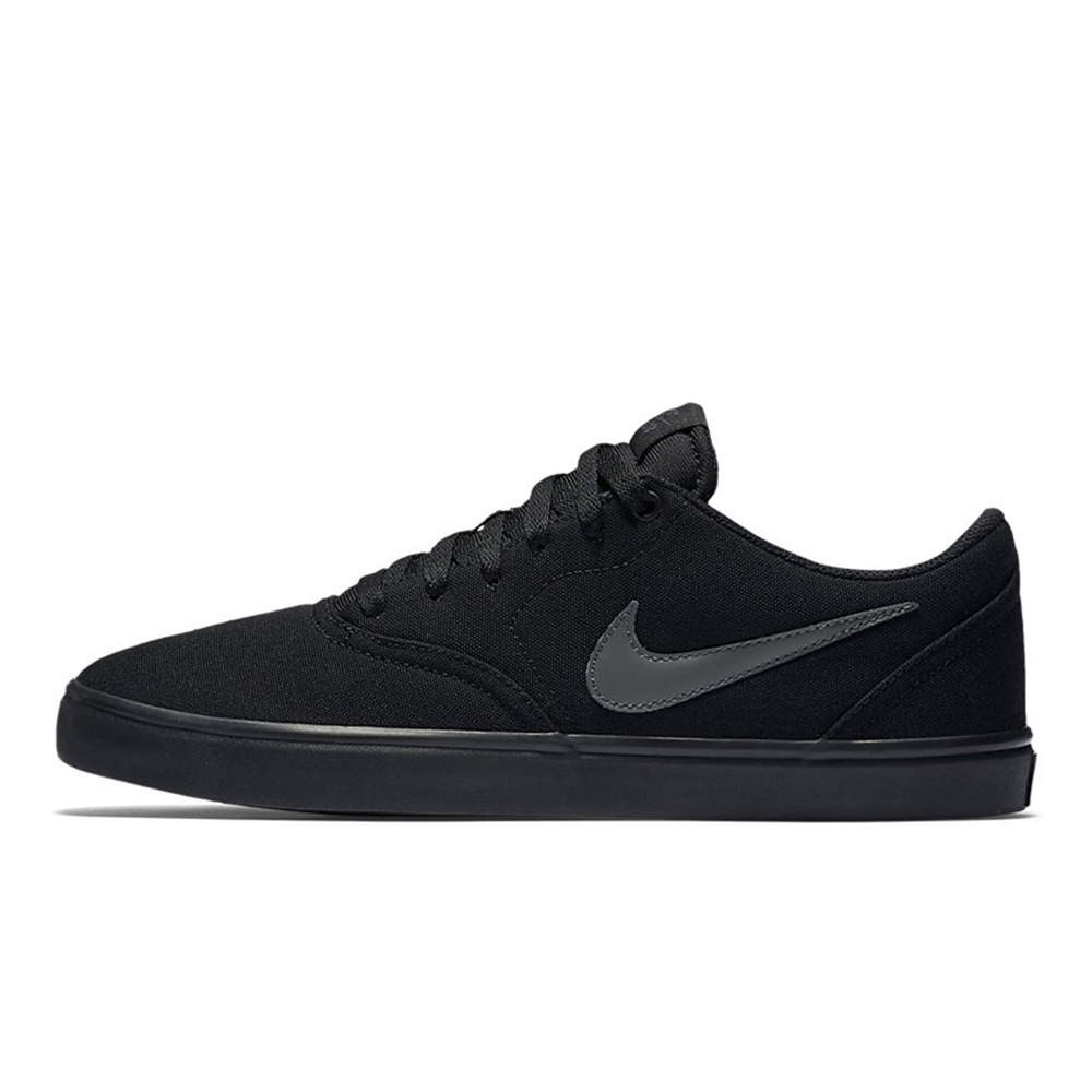 Shoes Nike Sb Check Solarsoft Canvas Black Anthracite